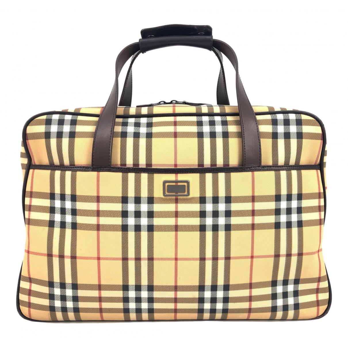 Burberry \N Taschen in  Beige Leinen