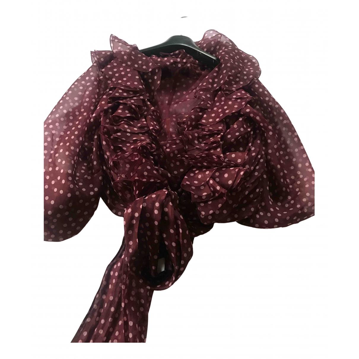 Blusa de Seda Dolce & Gabbana