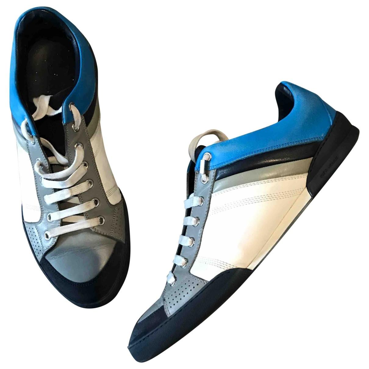 Dior \N Sneakers in  Blau Leder