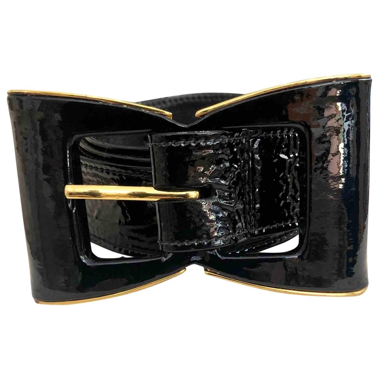 Cinturon de Charol Oscar De La Renta