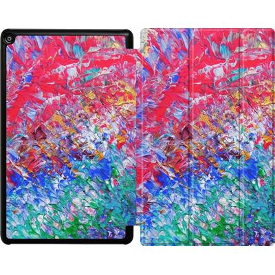 Amazon Fire HD 10 (2018) Tablet Smart Case - Macro 6 von Gela Behrmann