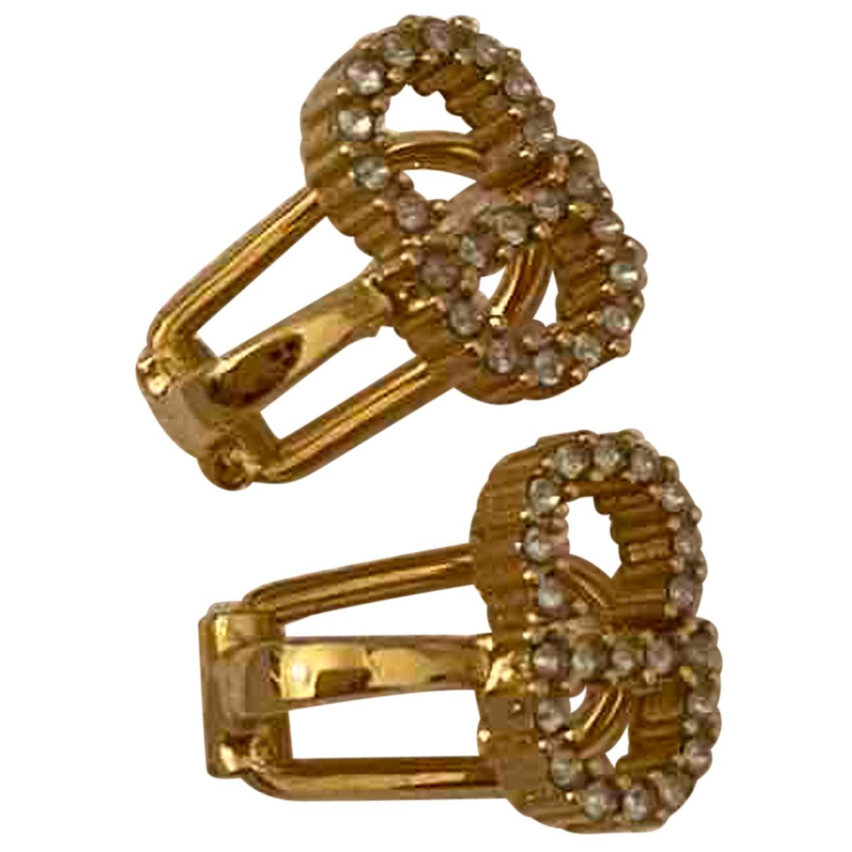 Dior \N OhrRing in  Gold Vergoldet