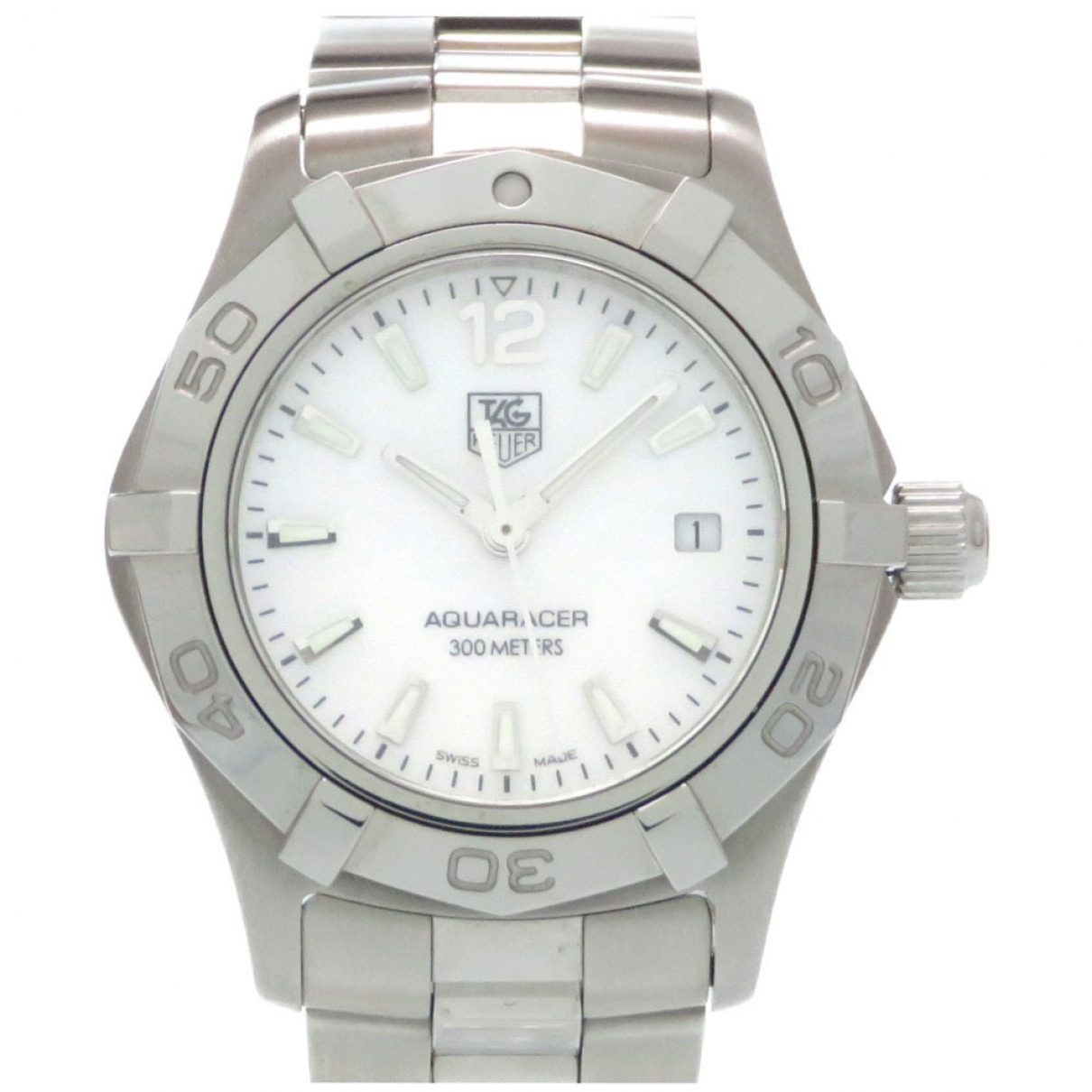 Tag Heuer Aquaracer  Silver Steel watch for Women \N