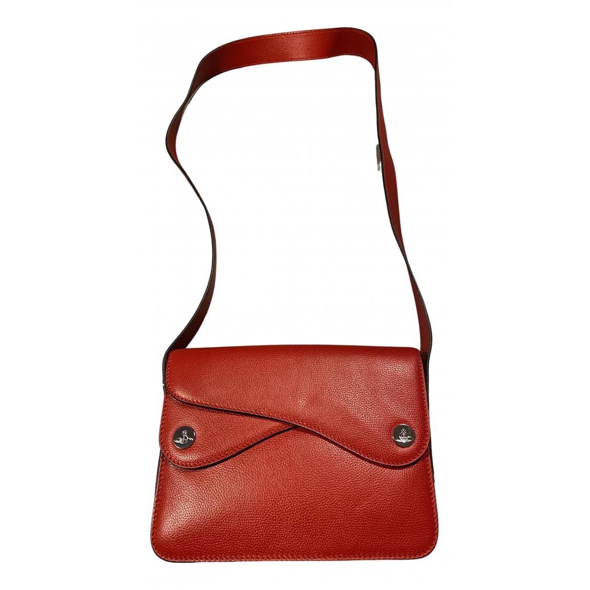Vivienne Westwood \N Handtasche in  Rot Leder
