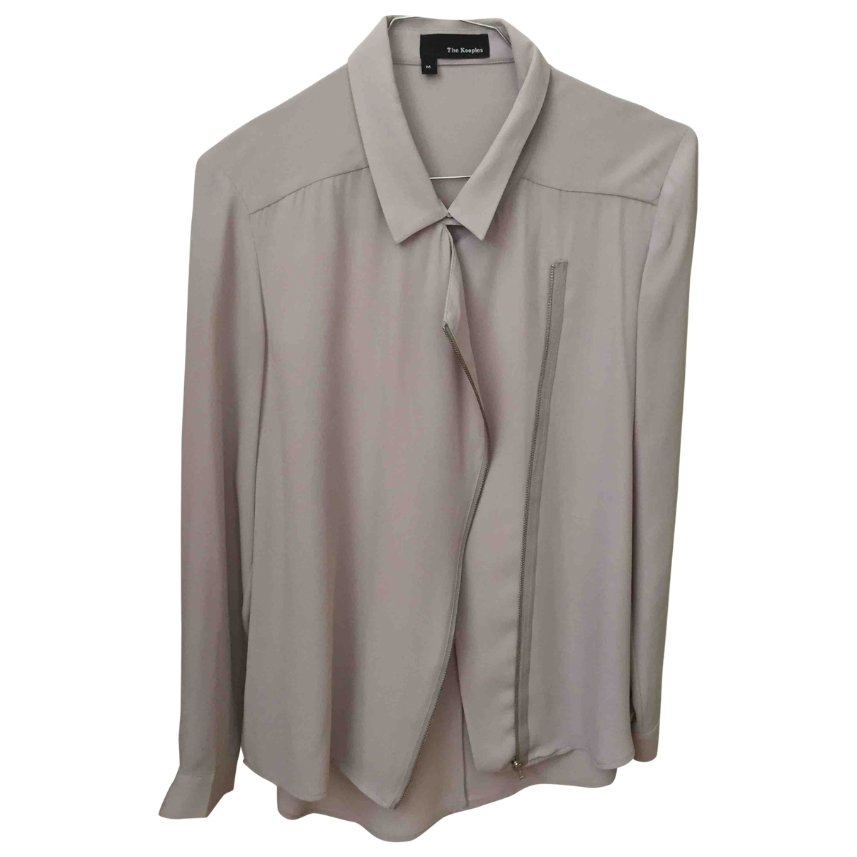 The Kooples \N Top in  Grau Polyester