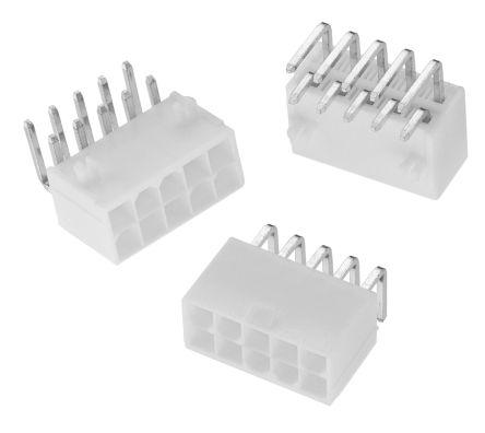 Wurth Elektronik , WR-MPC4, 12 Way, 2 Row, Right Angle PCB Header (5)