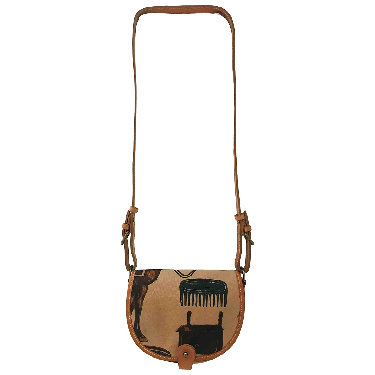 Ralph Lauren \N Brown Cloth handbag for Women \N