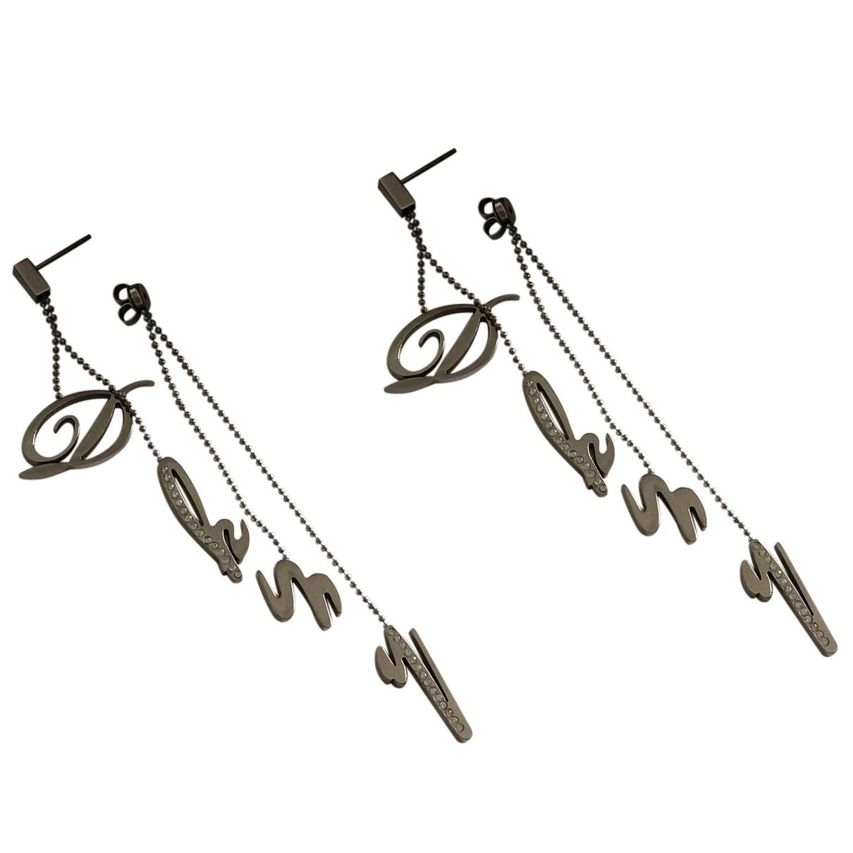 Dkny - Boucles doreilles   pour femme en metal - argente
