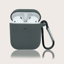 1pc Solid Airpods Case