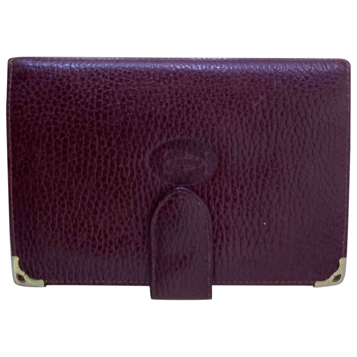 Cartier \N Burgundy Leather wallet for Women \N