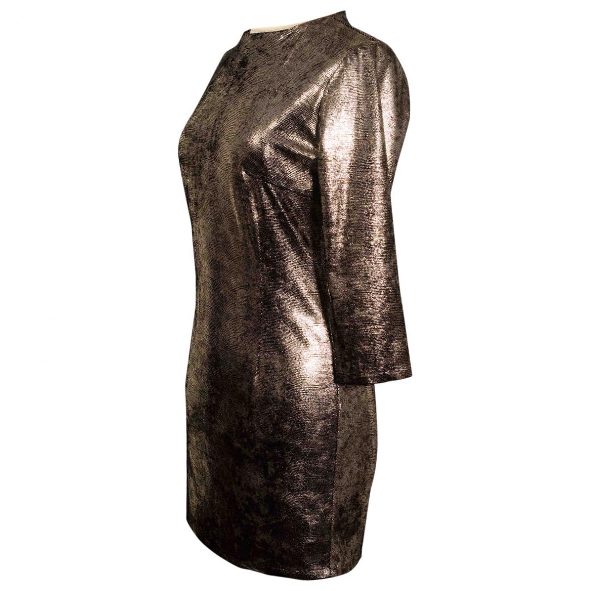 Modetrotter \N Kleid in  Gold Synthetik