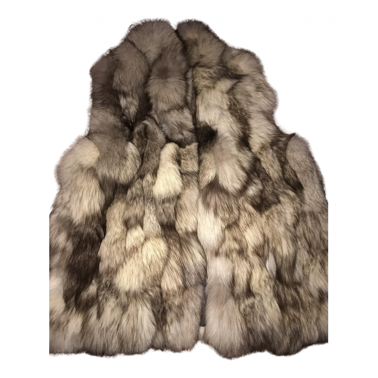 - Manteau   pour femme en renard