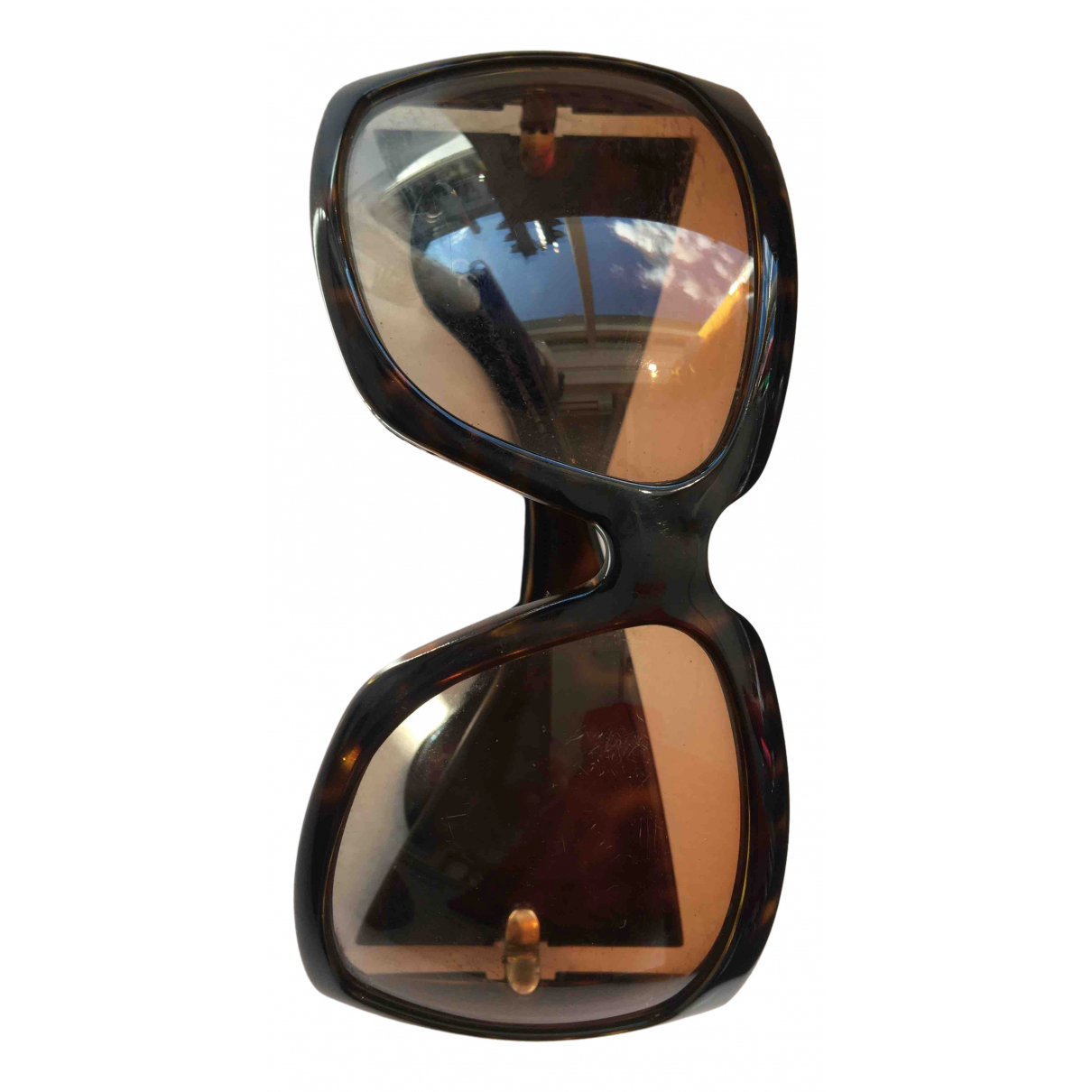Gucci - Lunettes   pour femme - marron