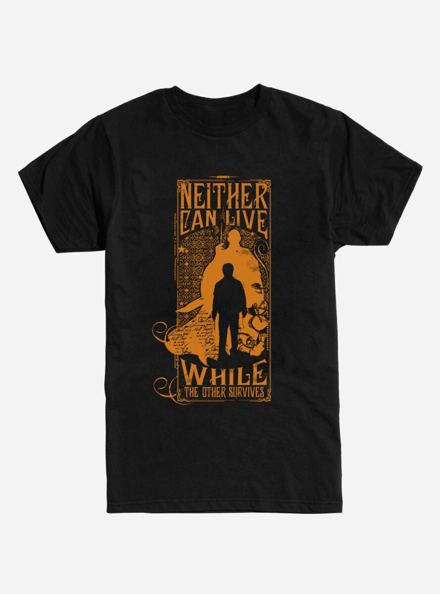 Harry Potter Neither Can Live T-Shirt