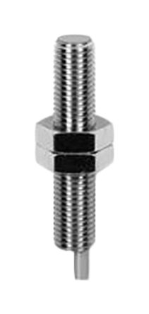 Baumer M8 x 1 Inductive Sensor - Barrel, PNP-NO Output, 3 mm Detection, IP67, Cable Terminal