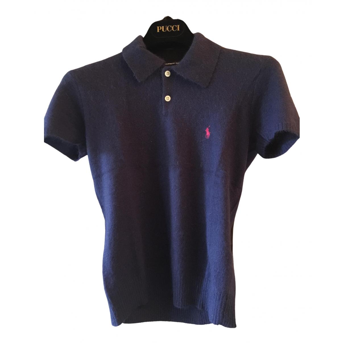 Polo Ralph Lauren - Top   pour femme en laine - bleu