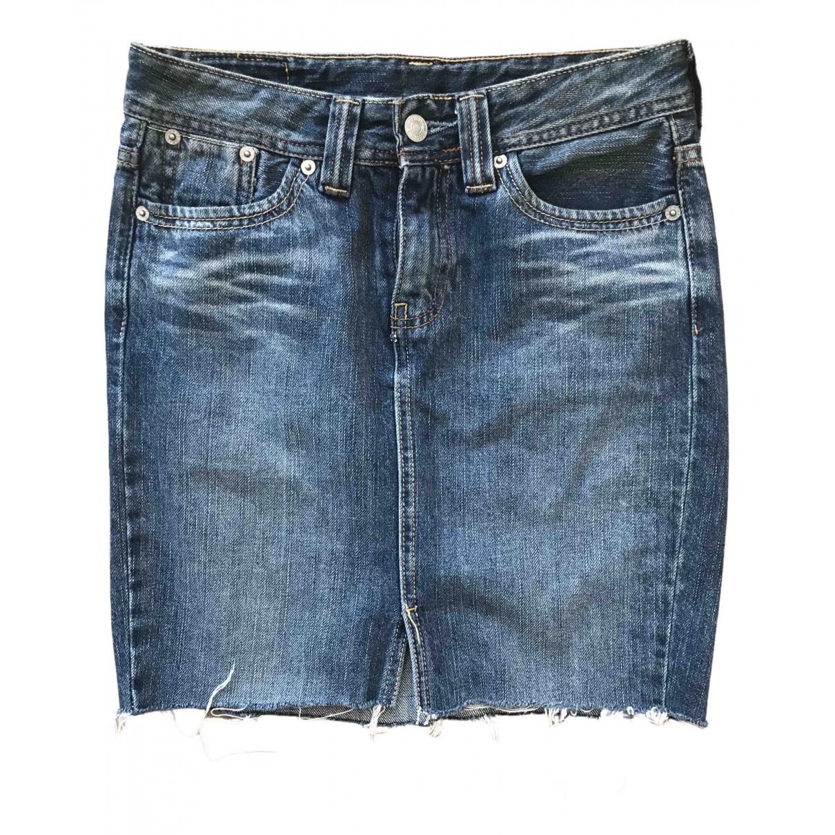 Levi's \N Blue Denim - Jeans skirt for Women 34 FR