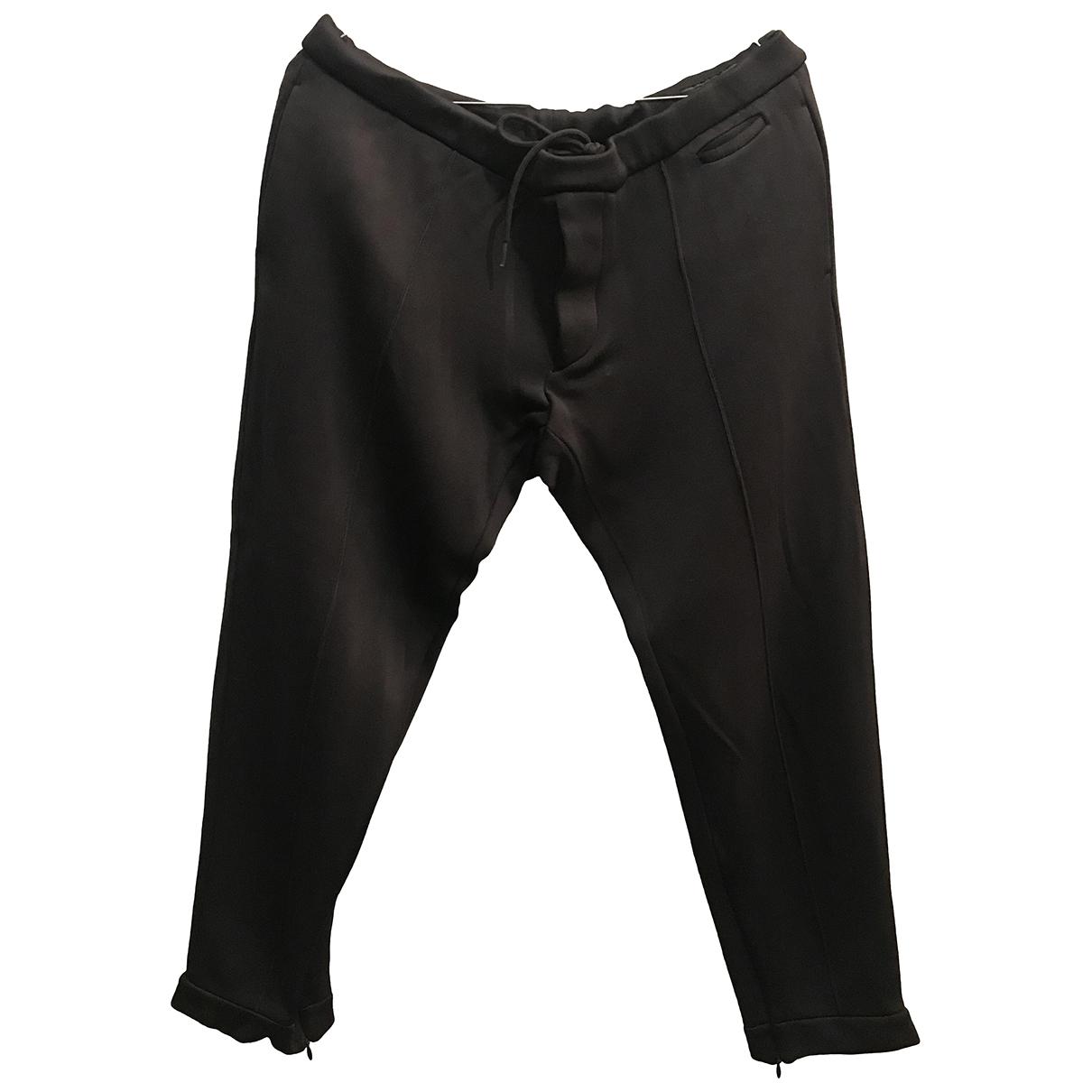 Prada \N Black Trousers for Men 48 IT