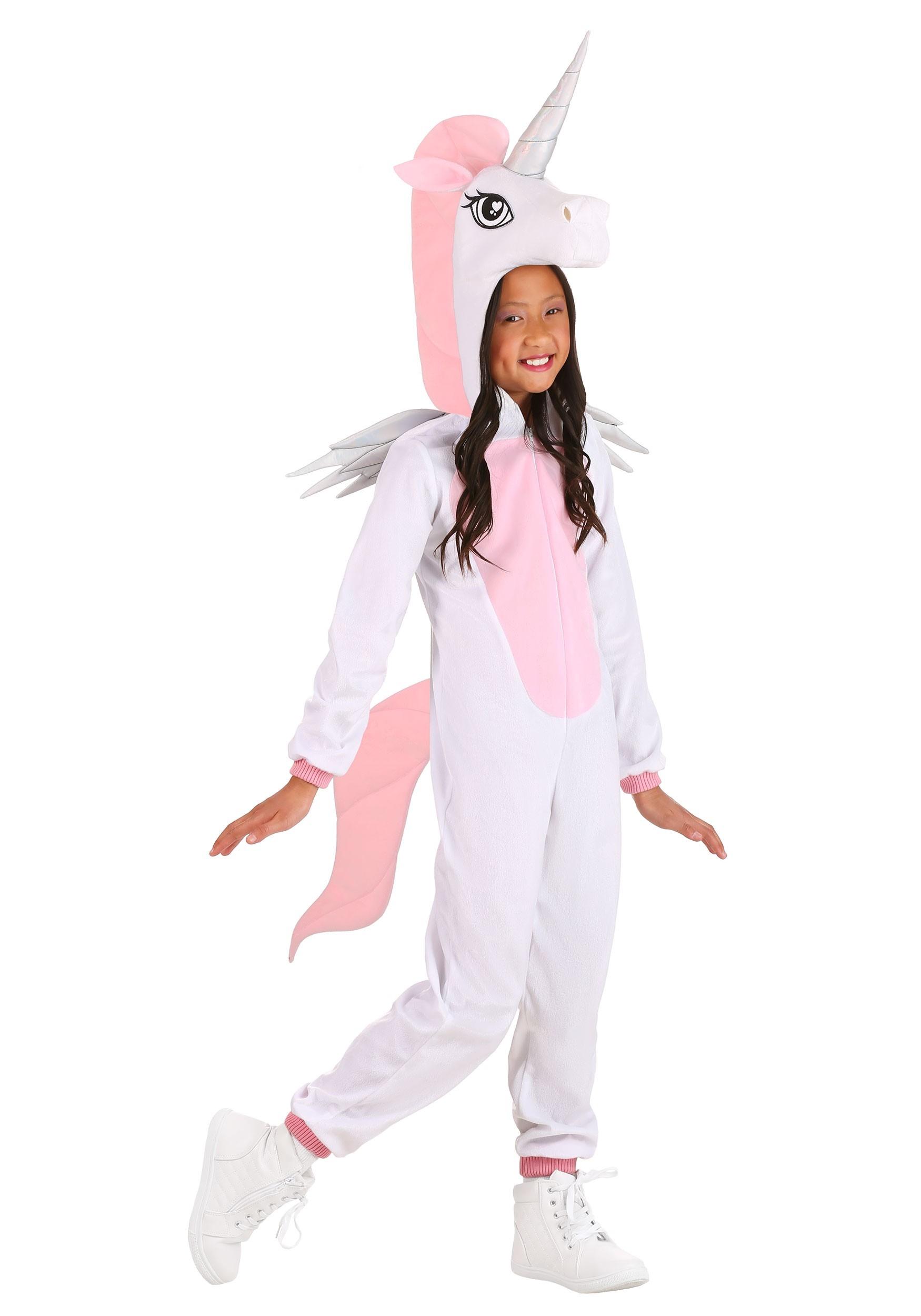Unicorn Jumpsuit Costume for Kids
