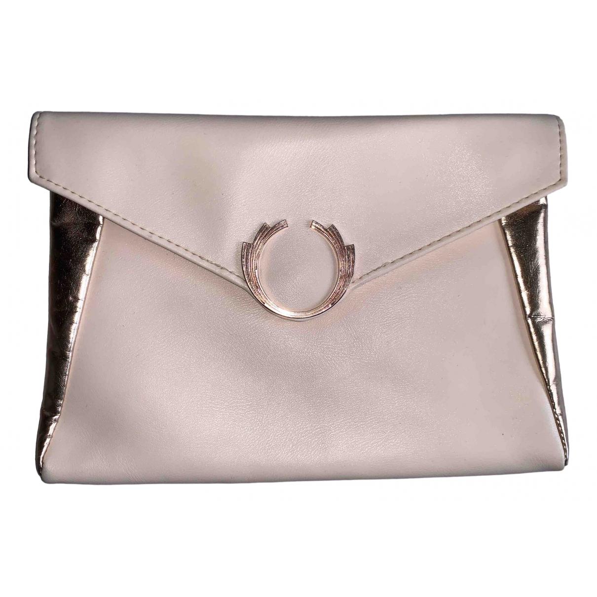 Paco Rabanne \N Beige Leather Clutch bag for Women \N