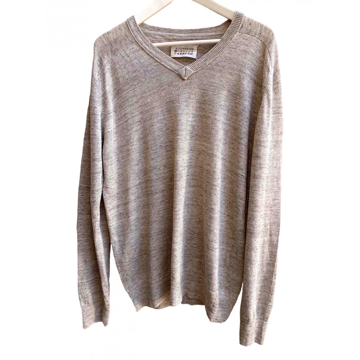 Maison Martin Margiela \N Beige Linen Knitwear & Sweatshirts for Men L International