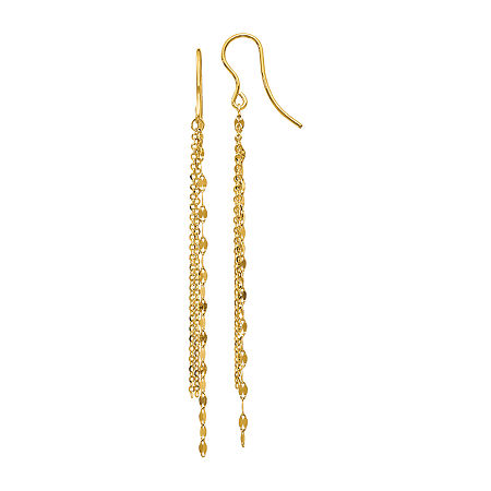 Made in Italy 14K Gold Drop Earrings, One Size , No Color Family