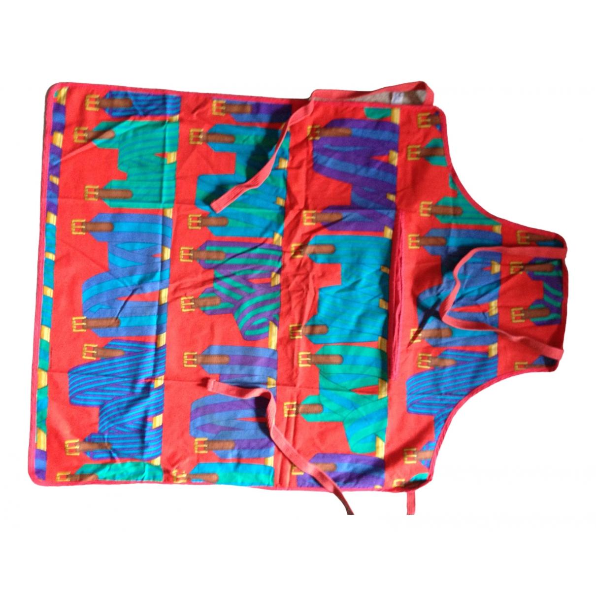 Hermès \N Multicolour Cotton Textiles for Life & Living \N