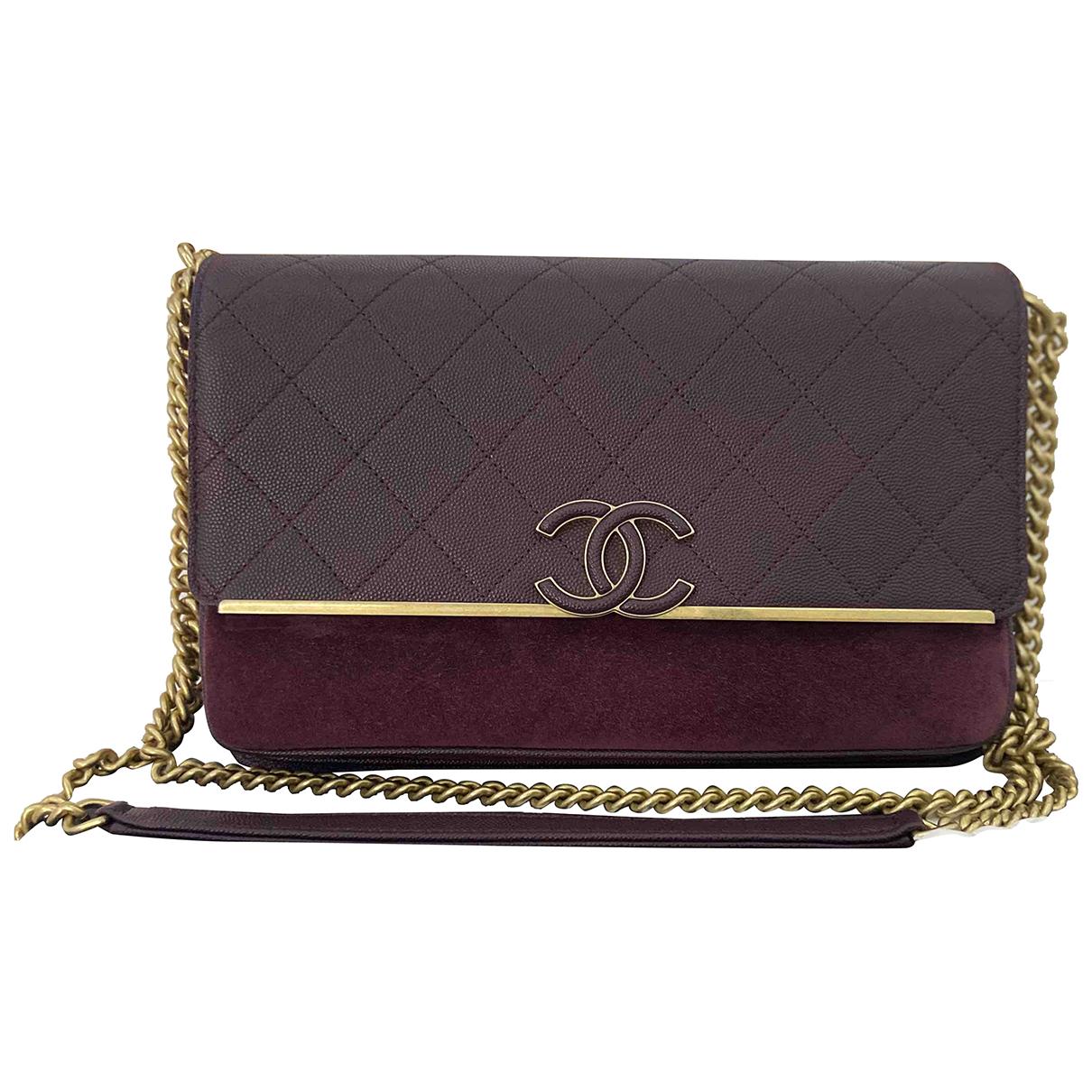 Bandolera Coco Luxe de Cuero Chanel