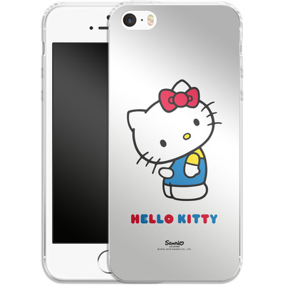 Apple iPhone 5 Silikon Handyhuelle - Hello Kitty von Hello Kitty