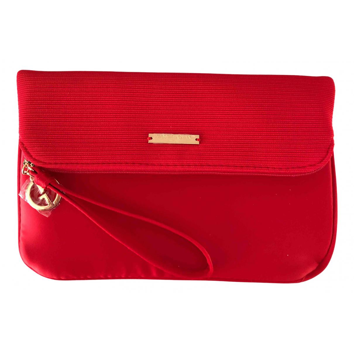 Giorgio Armani - Pochette   pour femme - rouge