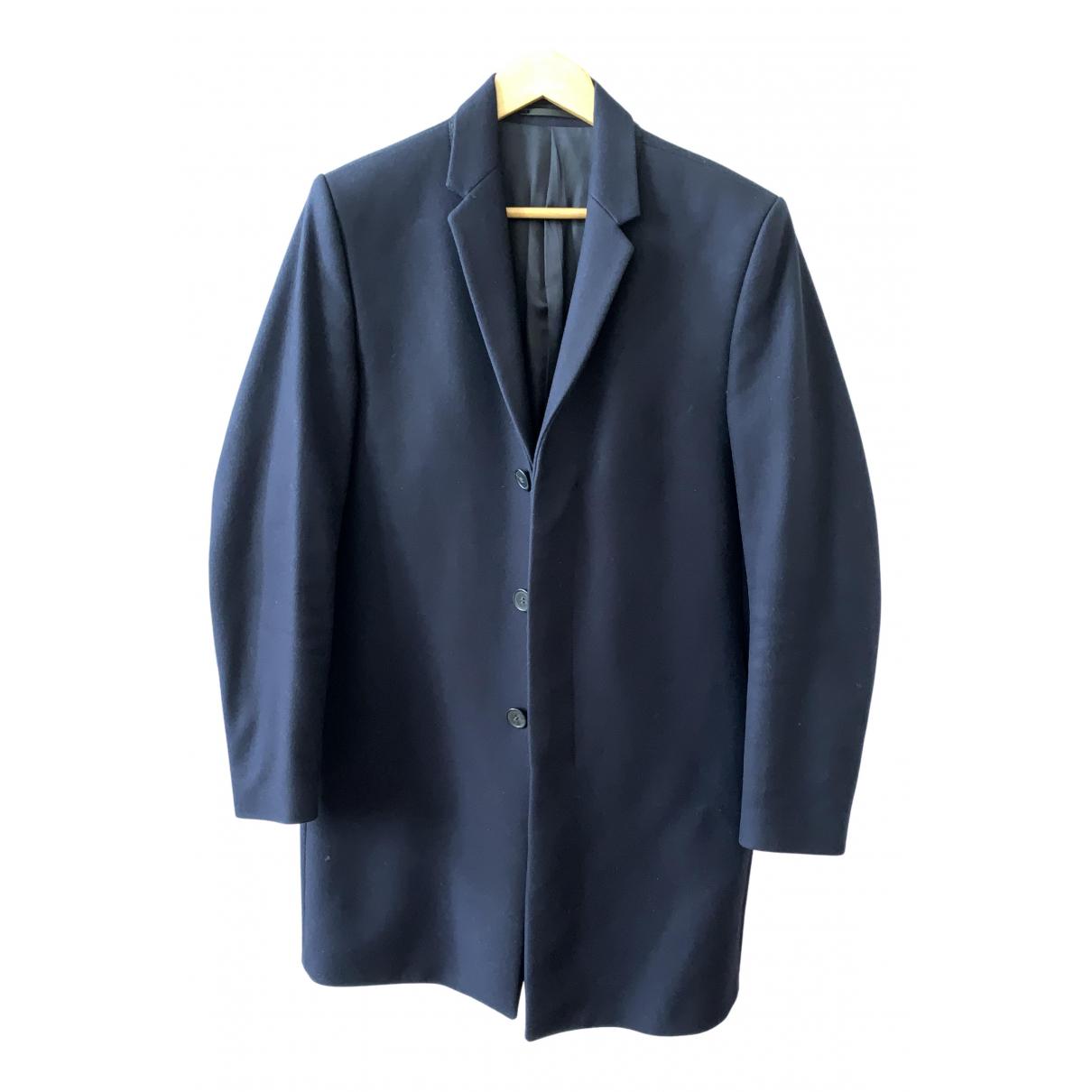 Cos \N Blue Wool coat  for Men 46 FR