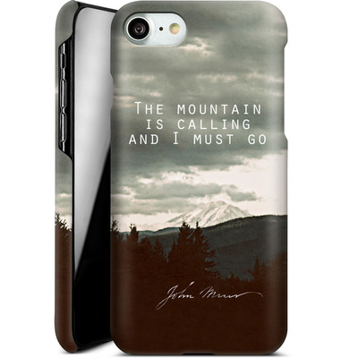 Apple iPhone 7 Smartphone Huelle - The Mountain Is Calling von Leah Flores