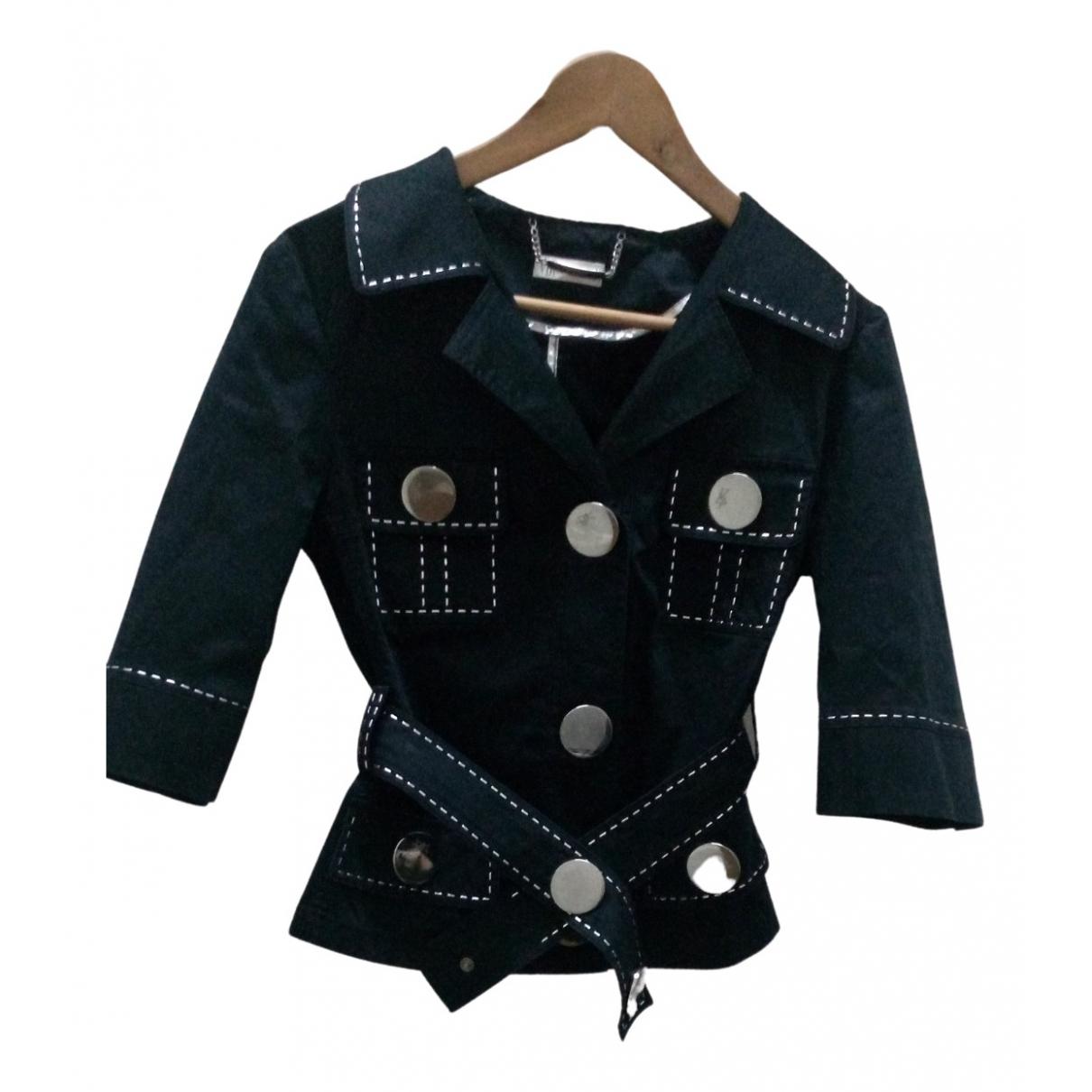 - Veste   pour femme en coton - noir