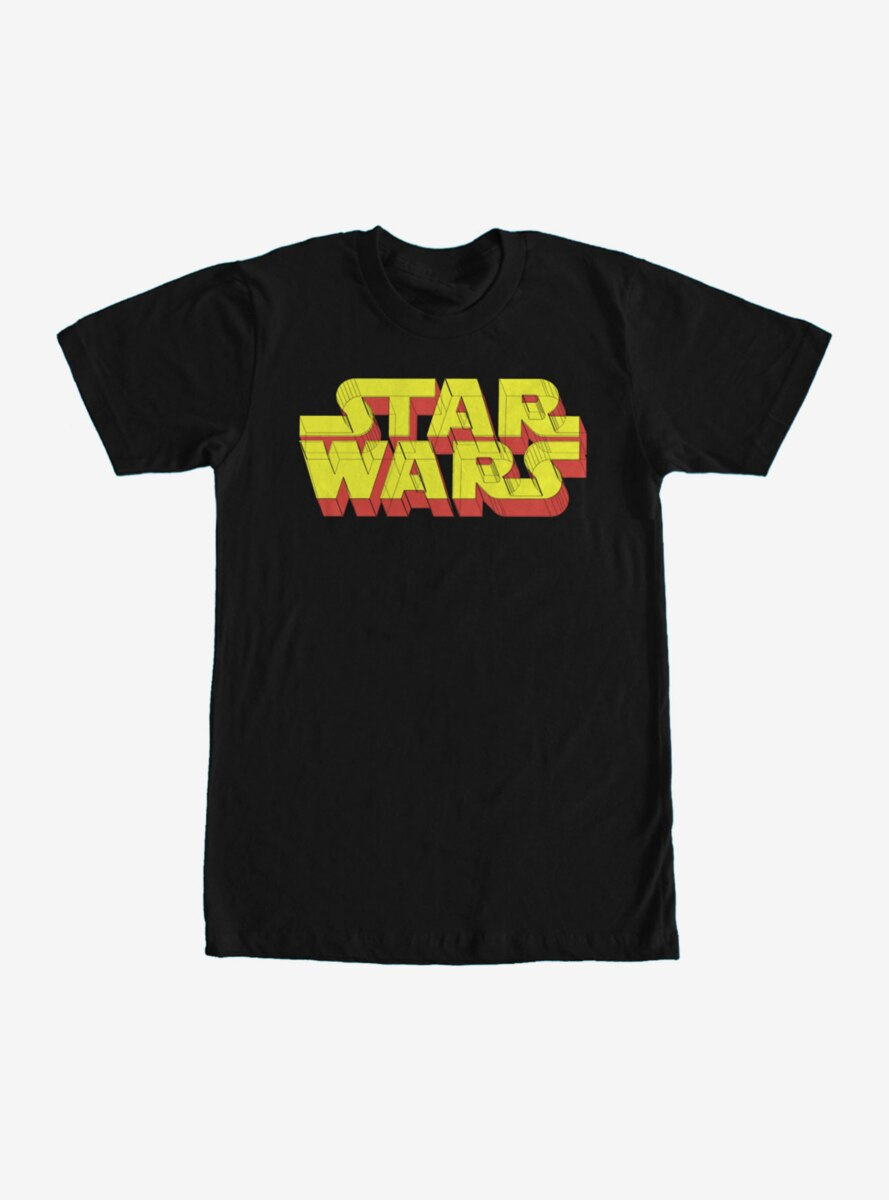 Star Wars Logo 3D T-Shirt
