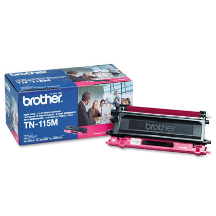 Brother TN115M Original Magenta Toner Cartridge