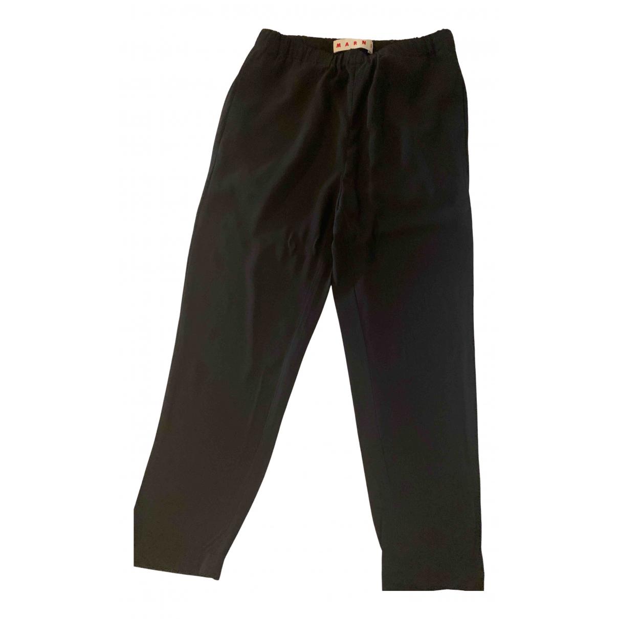 Marni - Pantalon   pour femme - noir