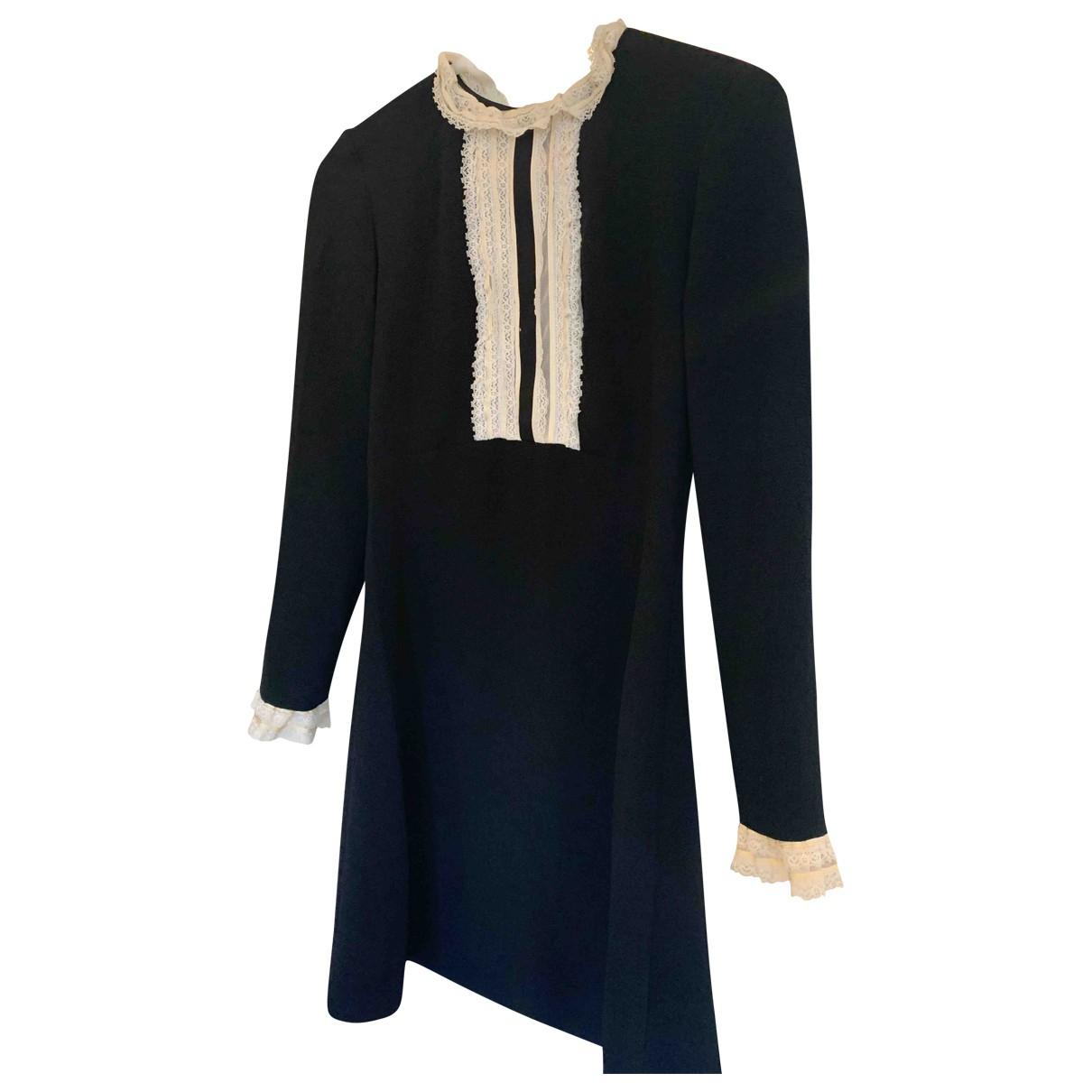 Sandro Fall Winter 2019 Black dress for Women 36 FR