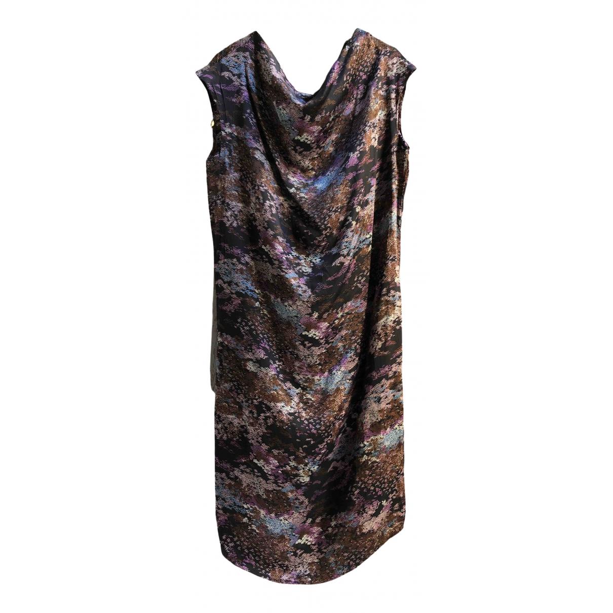 Yves Saint Laurent \N Kleid in  Bunt Seide