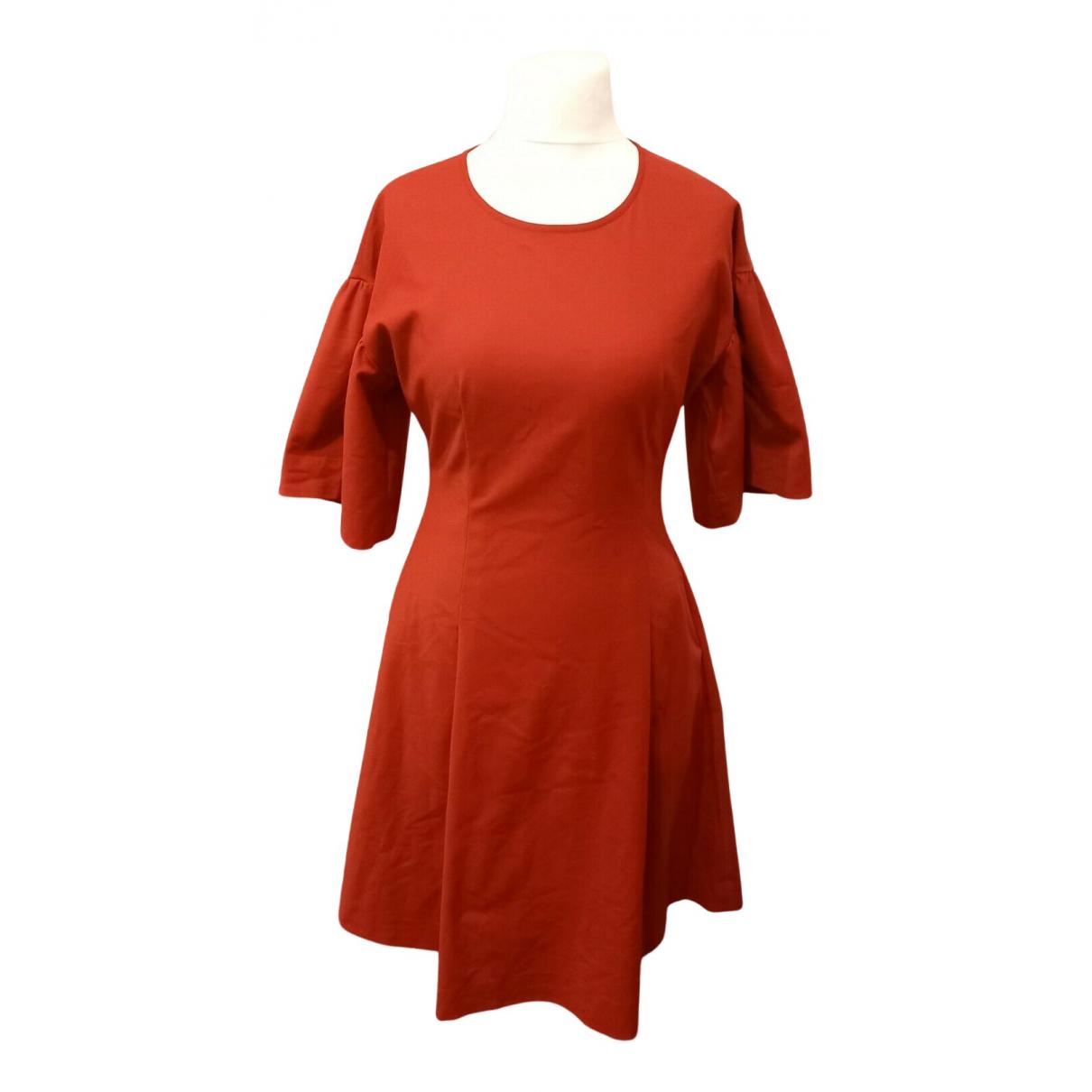 Rejina Pyo \N Kleid in  Rot Baumwolle