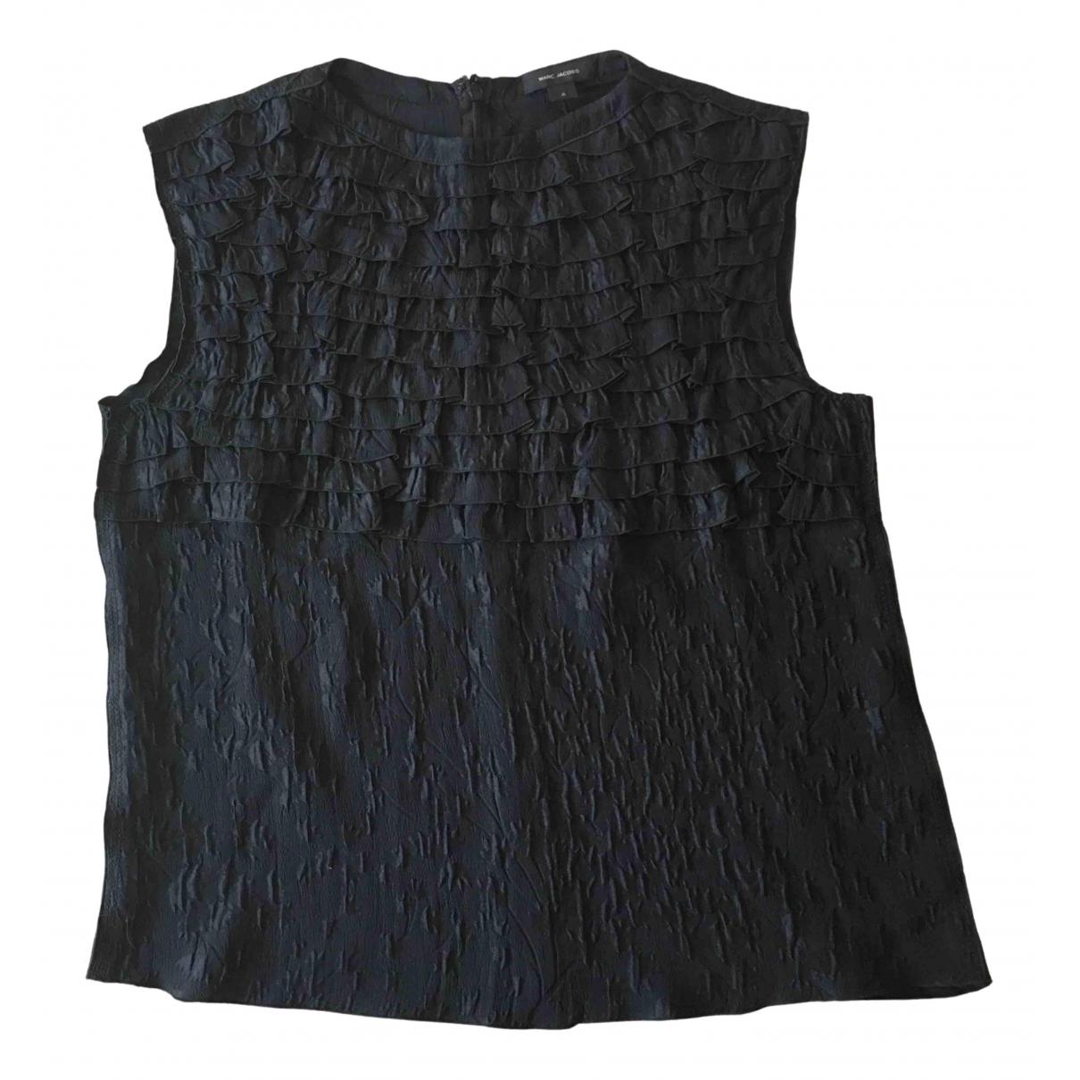 Camiseta sin mangas de Seda Marc Jacobs