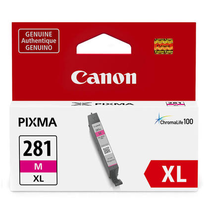 Canon CLI-281XL 2035C001 Original Magenta Ink Cartridge High Yield
