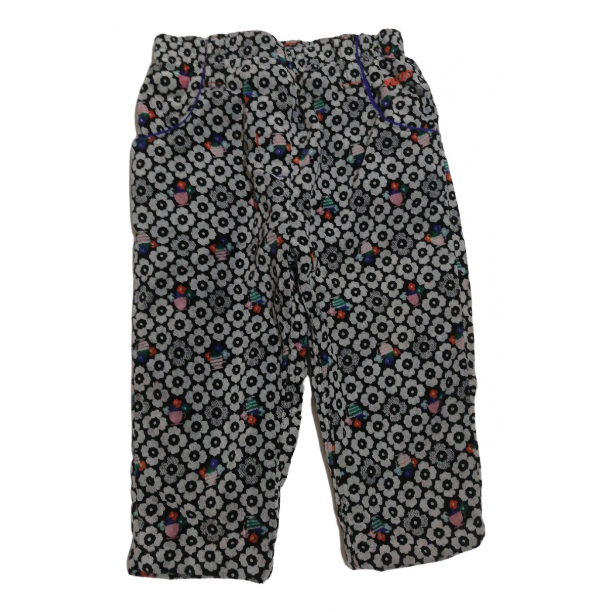 Kenzo \N Multicolour Cotton Trousers for Kids 12 months - up to 74cm FR