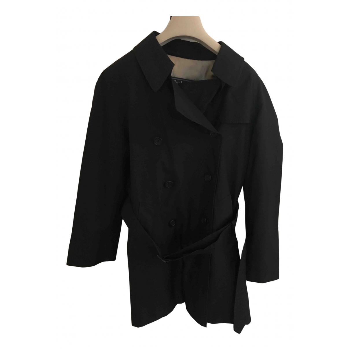 Burberry N Black Trench coat for Women 44 IT