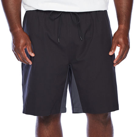 Msx By Michael Strahan Mens Stretch Pull-On Short-Big and Tall, 5x-large , Black