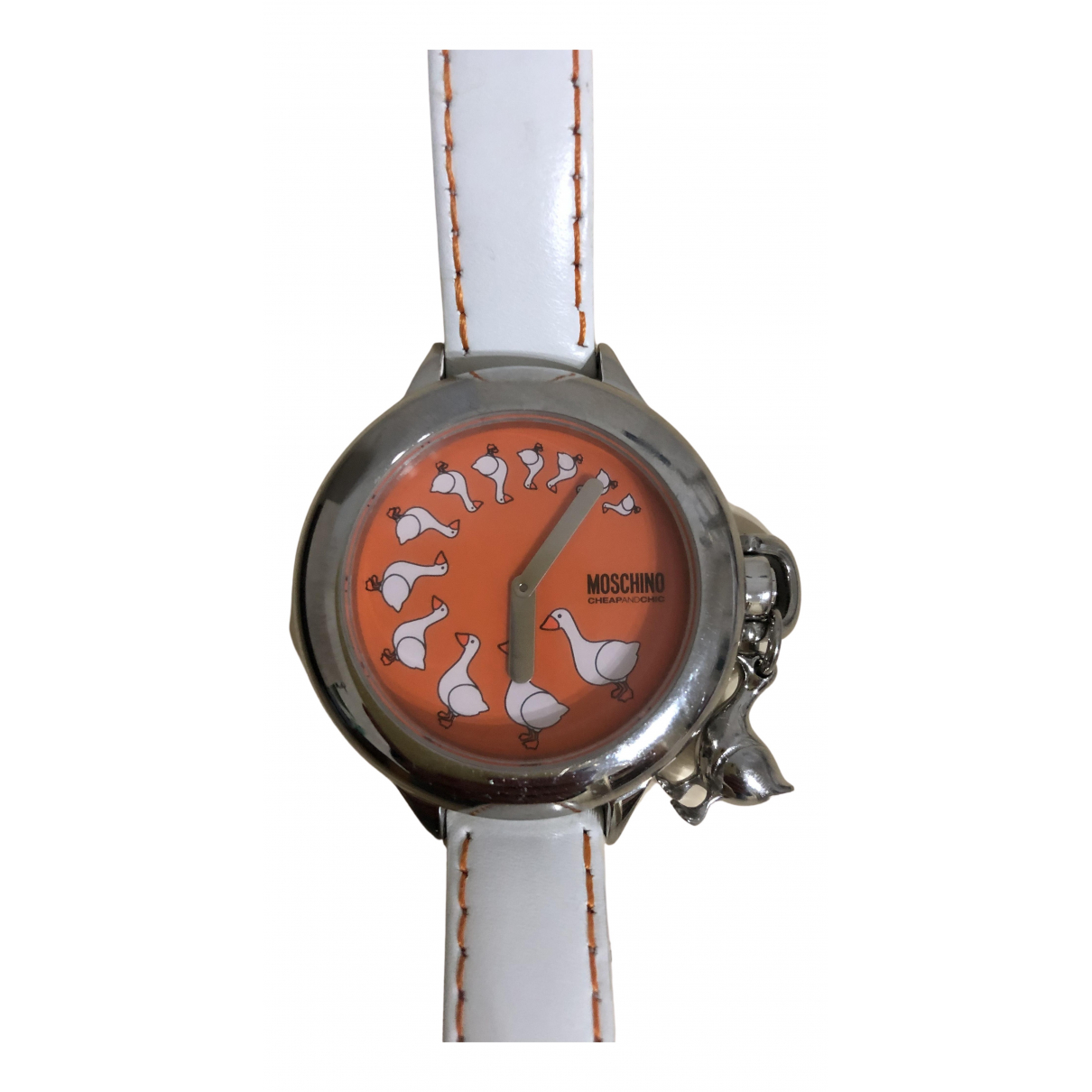 Moschino Cheap And Chic N White Steel watch for Women N