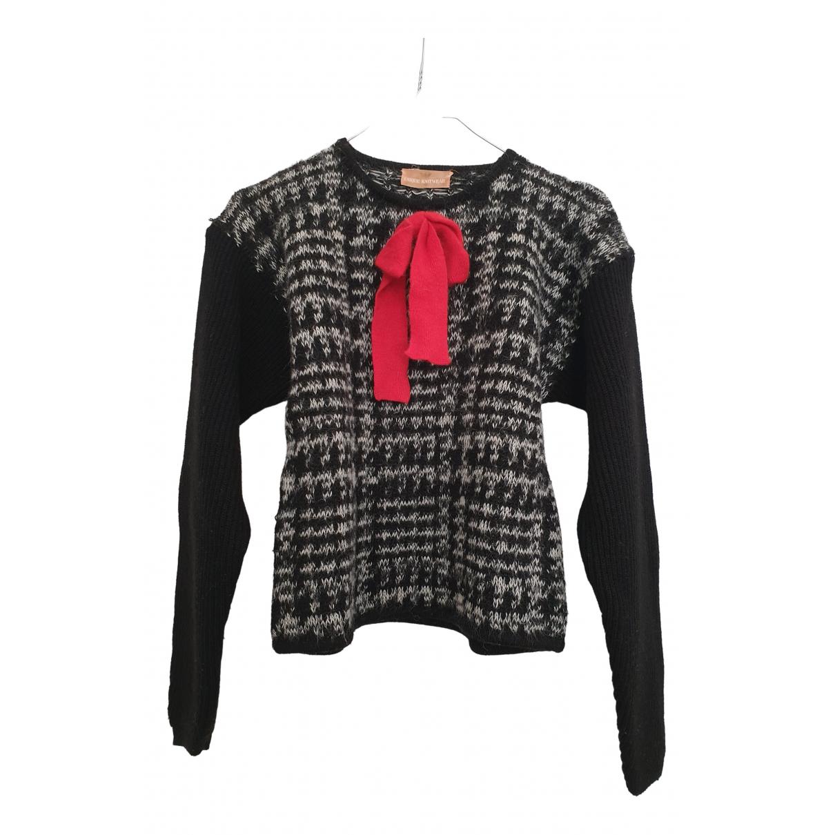 Emporio Armani N Wool Knitwear for Women 40 IT