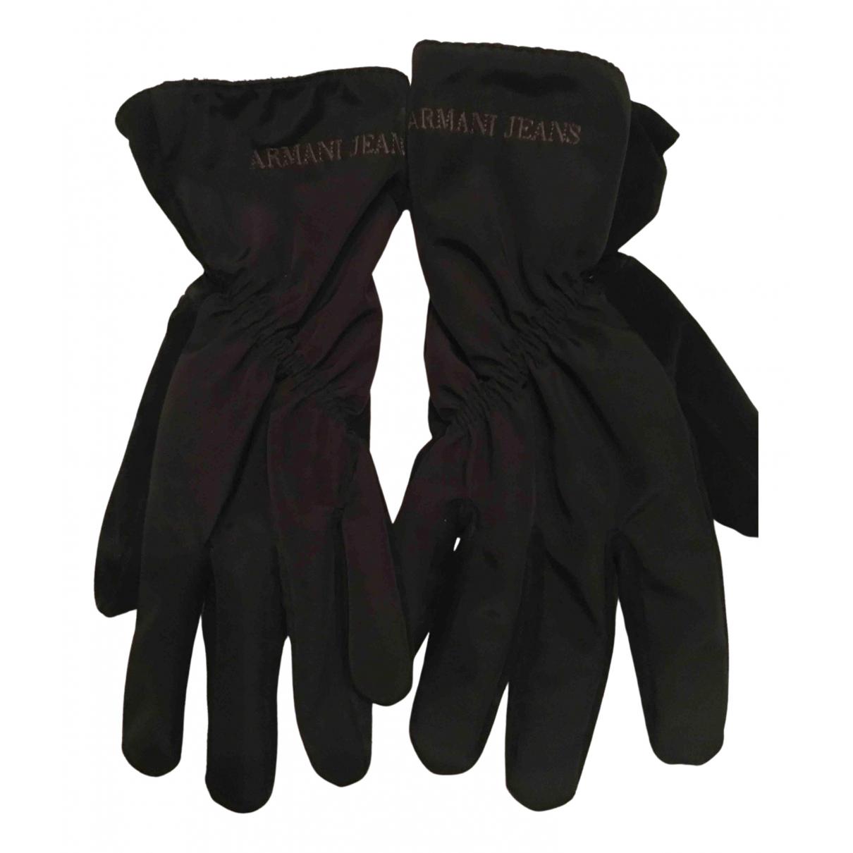 Armani Jeans \N Handschuhe Schwarz