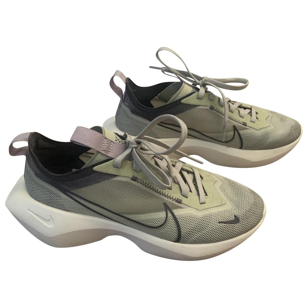 Nike - Baskets   pour femme en caoutchouc - vert