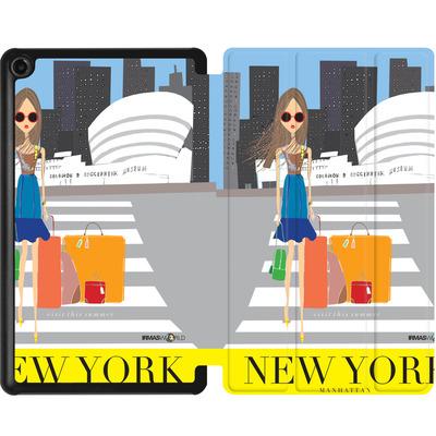 Amazon Fire 7 (2017) Tablet Smart Case - NEW YORK TRAVEL POSTER von IRMA