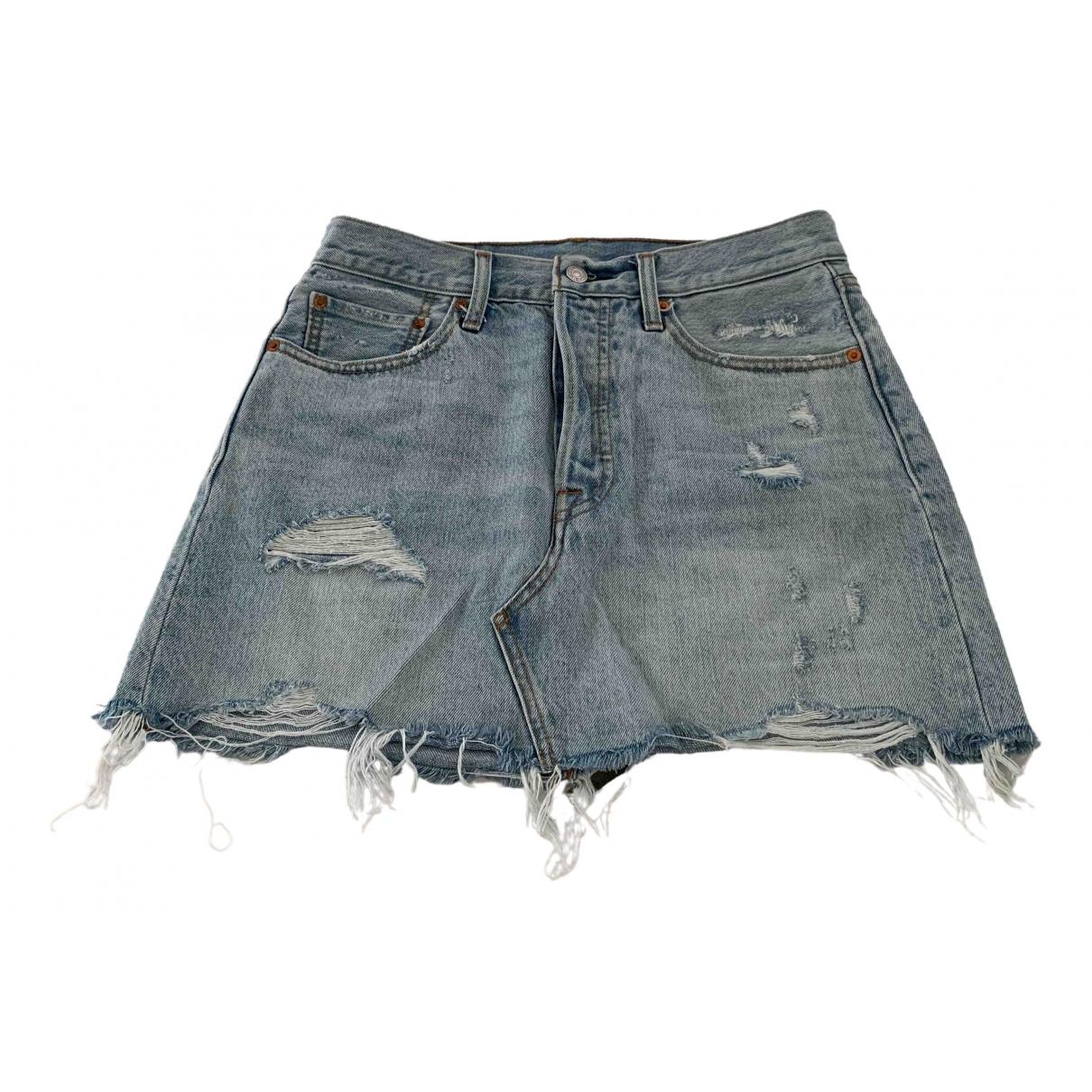 Mini falda Levis